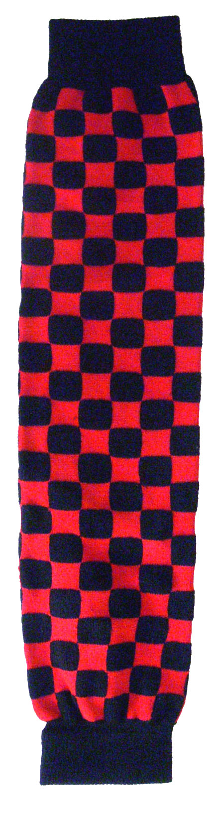 LEG WARMER LEGW -2    Red Checkers