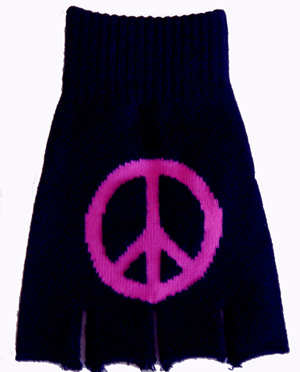 Mittens GLV -4  Peace Pink