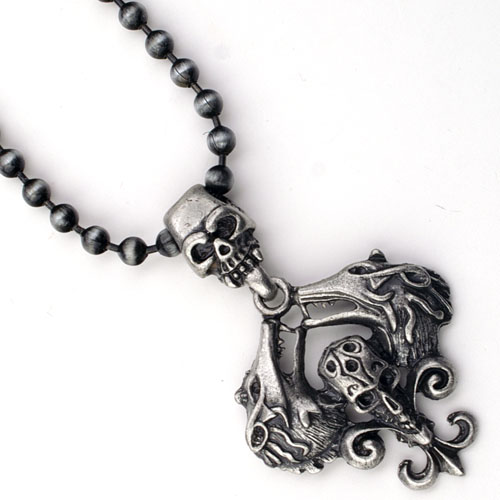 NECKLACE-B3 Skull