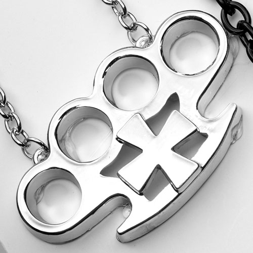 NECKLACE-B5 Iron Cross